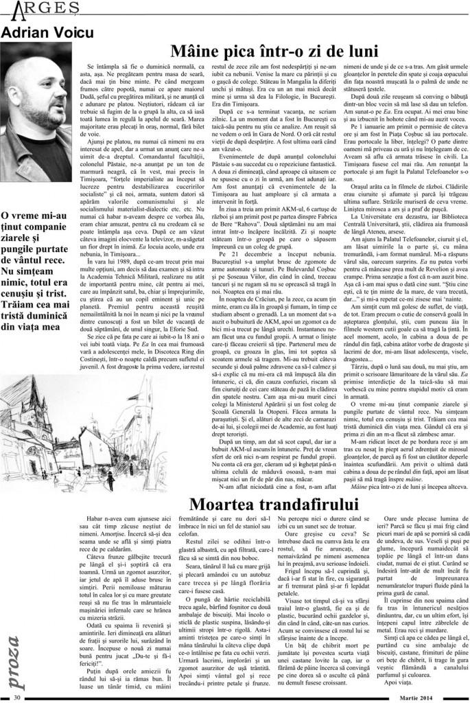 Revista Arges Martie 2014 - Pag. 30 2